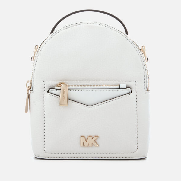 Michael Kors Women S Jessa Extra Small Convertible Backpack Optic White Image 1