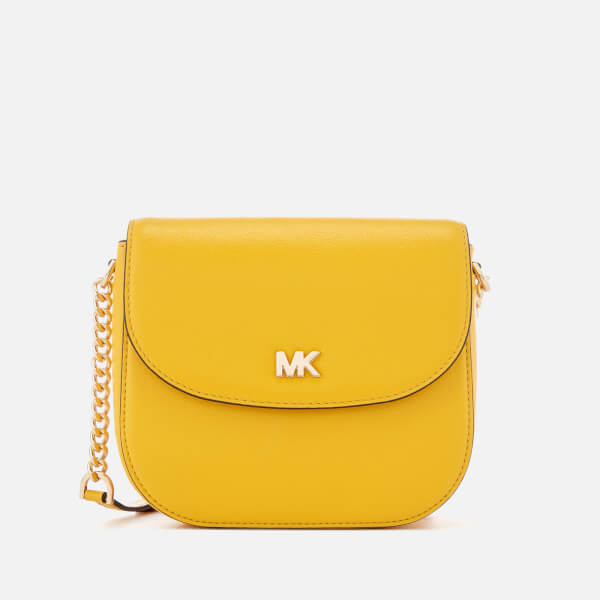 e5d100898b12 MICHAEL MICHAEL KORS Women s Half Dome Cross Body Bag - Sunflower  Image 1