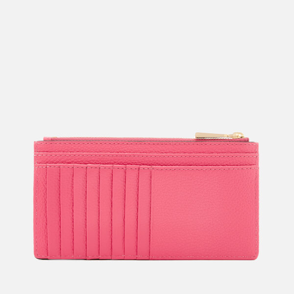 8e23b5ba845e MICHAEL MICHAEL KORS Women's Mercer Pebble Large Slim Card Case - Rose  Pink: Image 2