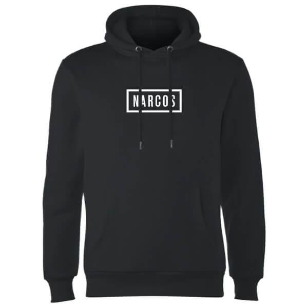Narcos Box Logo Black Hoodie - Black
