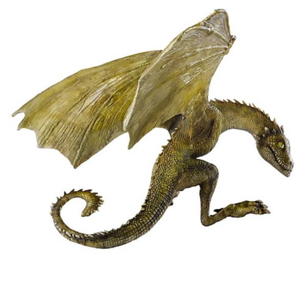 Game of Thrones Rhaegal Baby Dragon Sculpture