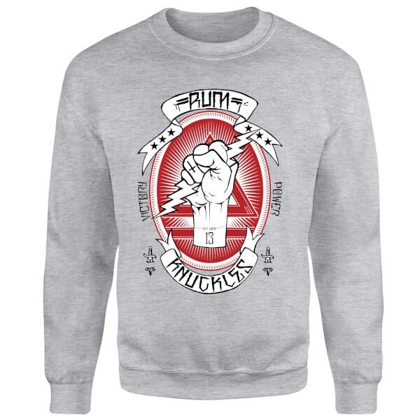 Rum Knuckles Victory Power Sweatshirt - Grey