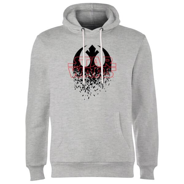 Star Wars Shattered Emblem Hoodie - Grey