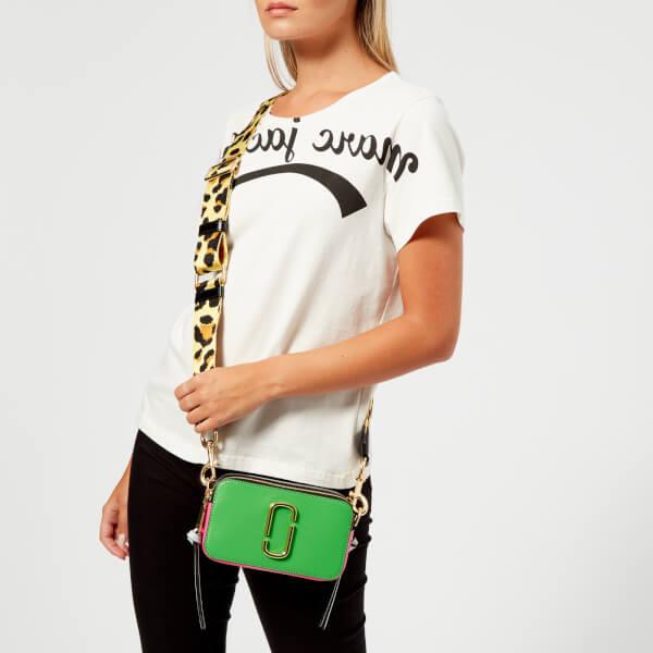 Marc Jacobs Women's Snapshot Cross Body Bag - Jade: Image 21