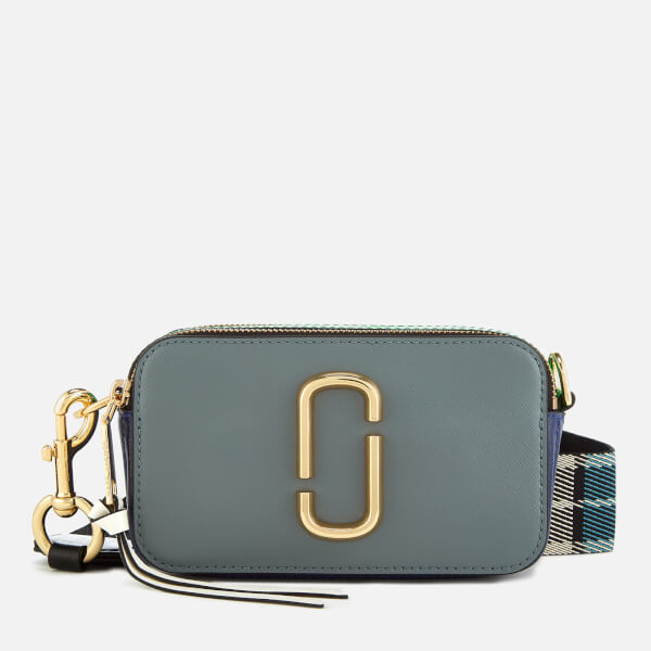Marc Jacobs Women's Snapshot Cross Body Bag - Slate