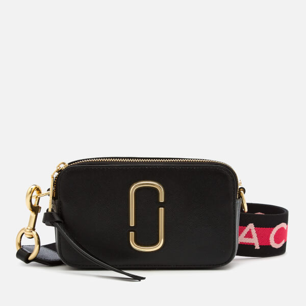 Marc Jacobs Women's Snapshot Cross Body Bag - Black Multi