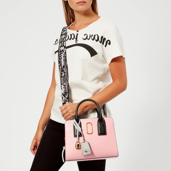 Marc Jacobs Women's Little Big Shot Tote Bag - Baby Pink: Image 21