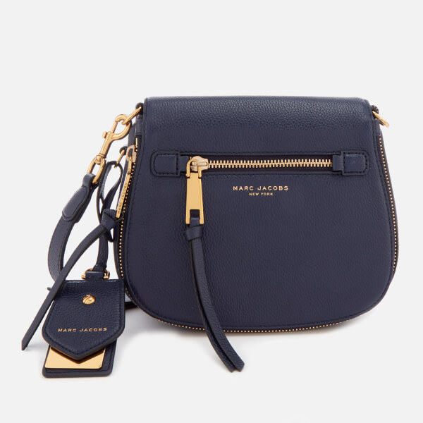 Marc Jacobs Women's Reruit Small Nomad Cross Body Bag - Midnight Blue