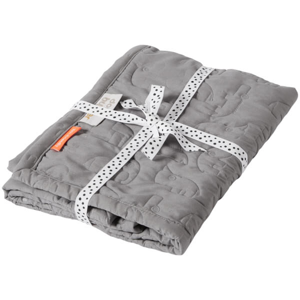 Done By Deer Quilt Contour - Grey