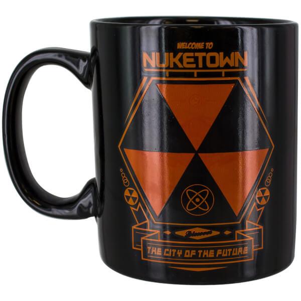 Call of Duty Nuketown Heat Change Mug