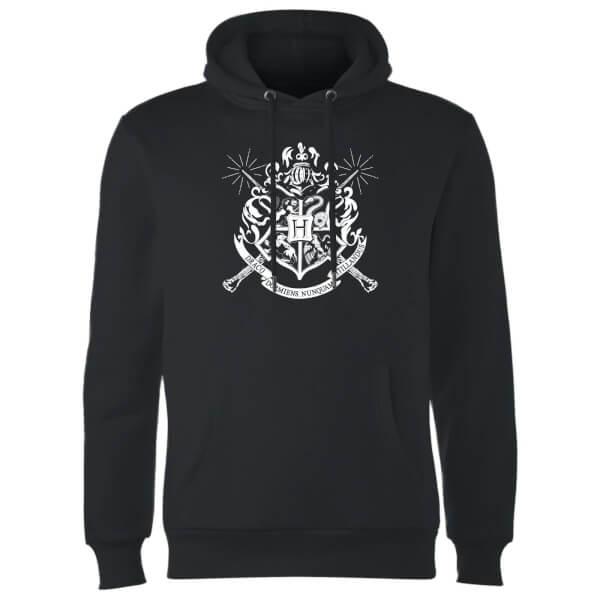 Harry Potter Hogwarts House Crest Hoodie - Black