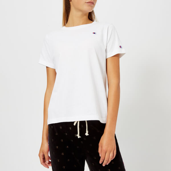Champion Women's Short Sleeve T-Shirt - White: Image 01