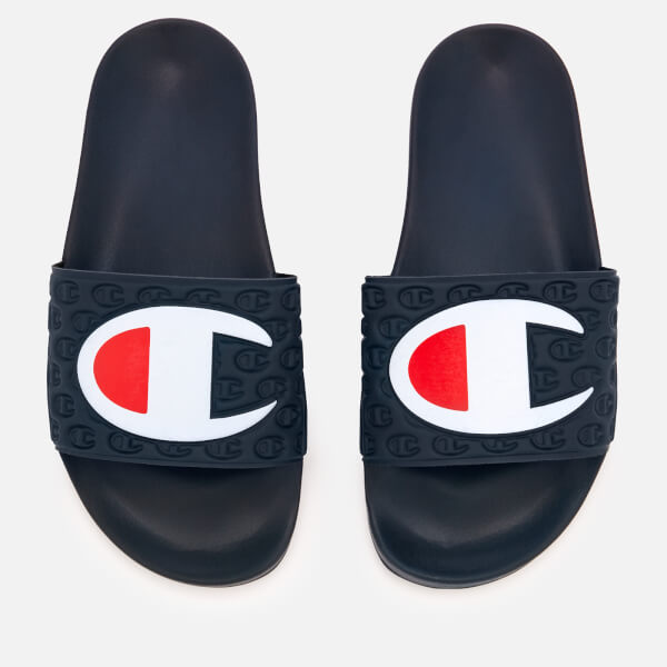 0d1fd6346b093 Champion Women s Pool Slide Sandals - Navy Womens Accessories ...