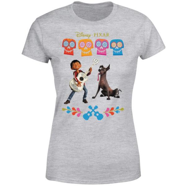 Coco Miguel Logo Women's T-Shirt - Grey