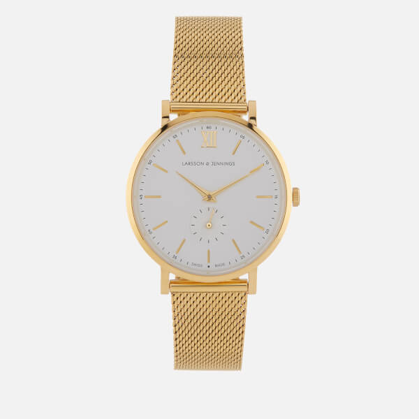 Larsson & Jennings Women's Jura 38mm Watch - Gold