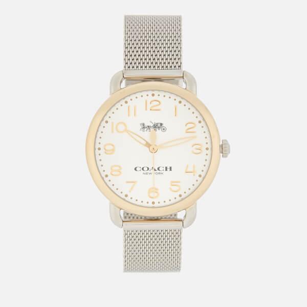 Coach Women's Delancey Watch - Silver/Gold