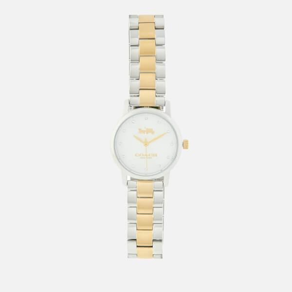 Coach Women's Grand Link Watch - Silver/Gold