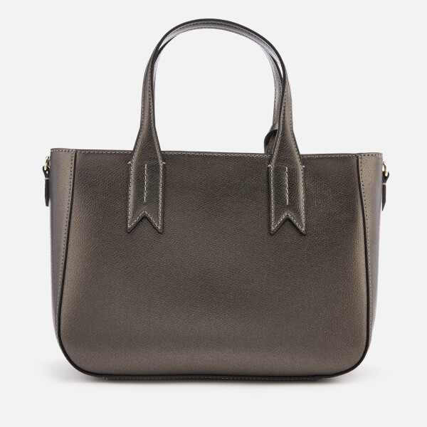 b181851a6bf9 Emporio Armani Women s Frida Small Eagle Tote Bag - Gun Metal  Image 2