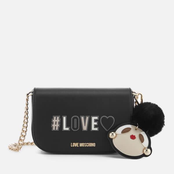 Love Moschino Women's Small Logo Bag - Black
