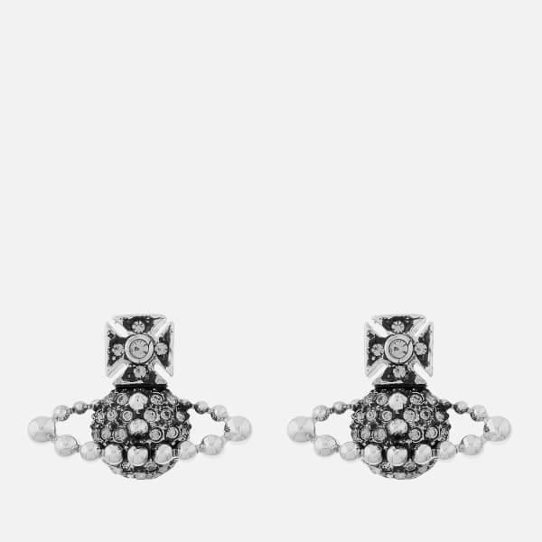 Vivienne Westwood Women's Lena Bas Relief Earrings - Rhodium