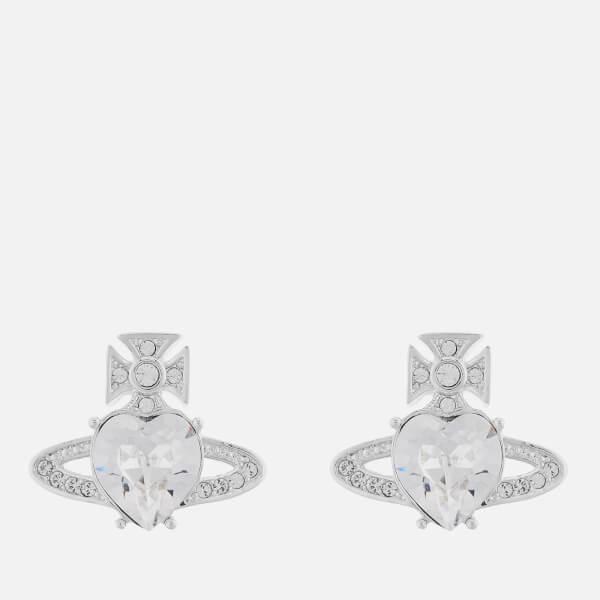 Vivienne Westwood Women's Ariella Earrings - Rhodium