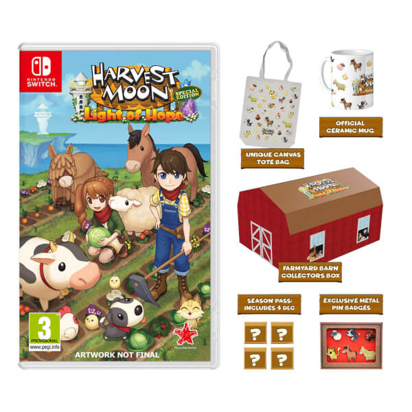 Harvest Moon: Light of Hope Collectors Edition