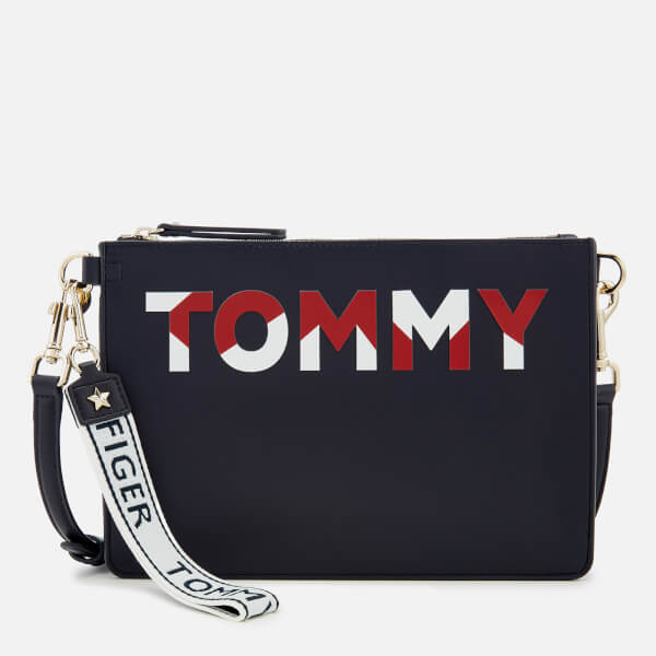 Tommy Hilfiger Women's Iconic Tommy Cross Body Bag - Navy