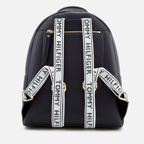 d9ce57e6661 Tommy Hilfiger Women's Iconic Tommy Backpack - Navy: Image 2