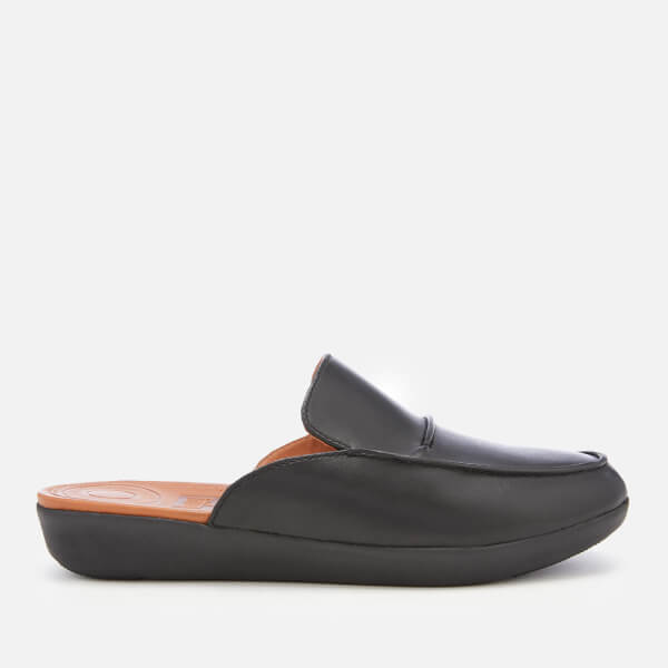 9f193bbf0456cd FitFlop Women s Serene Deco Mules - Black  Image 1