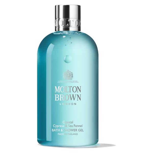 Molton Brown Coastal Cypress & Sea Fennel Bath and Shower Gel 300ml