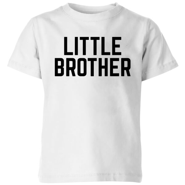 My Little Rascal Little Brother Kids' T-Shirt - White