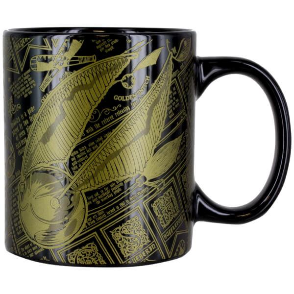 Harry Potter Golden Snitch Mug