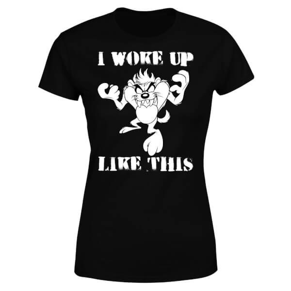 Looney Tunes I Woke Up Like This Women's T-Shirt - Black