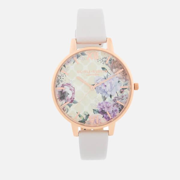 Olivia Burton Women's Glasshouse Watch - Blush/Rose Gold