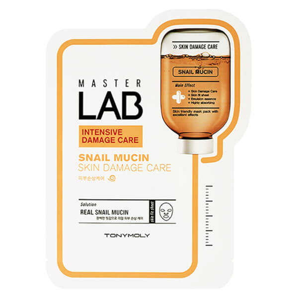 TONYMOLY Master Lab Sheet Mask - Snail Mucin