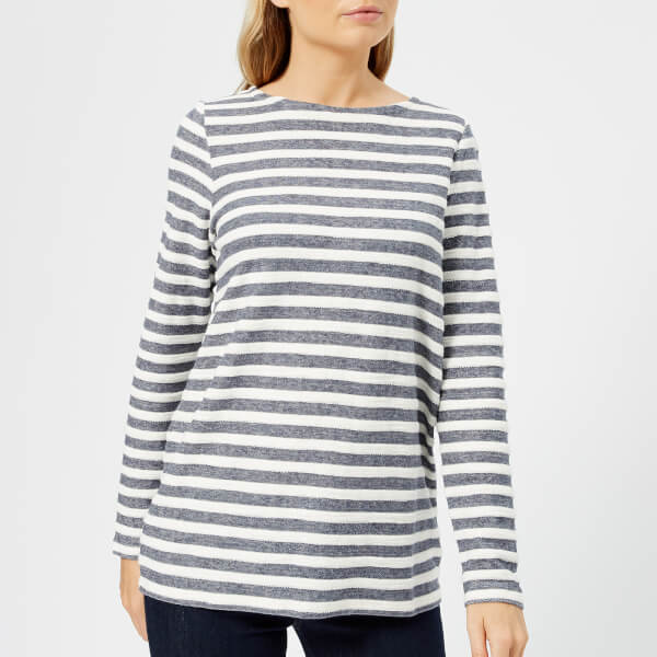 Joules Women's Caroline Sweatshirt with Zip Back - French Navy