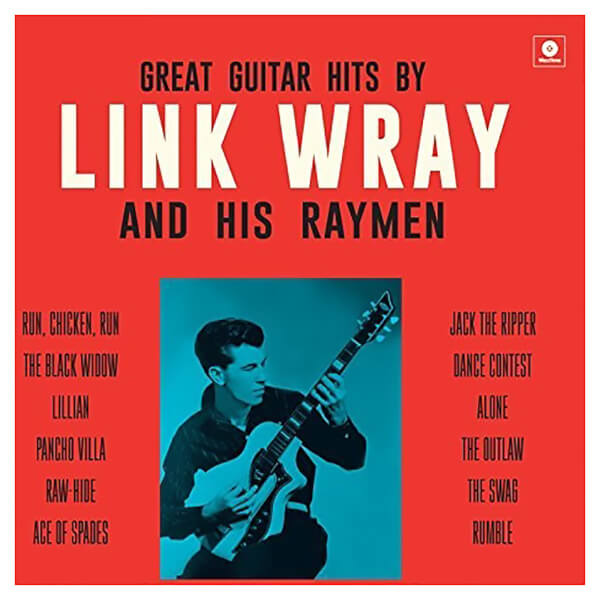 Great Guitar Hits By Link Wray & His Wraymen + 4 Vinyl