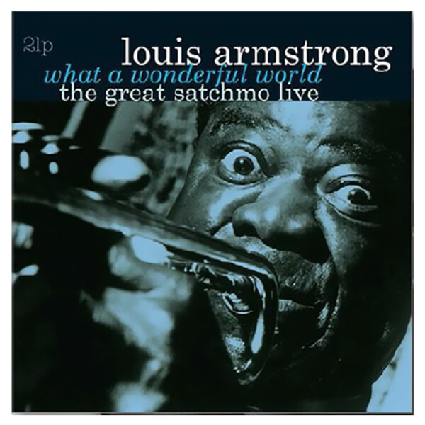 What A Wonderful World-The Great Satchmo Live Vinyl