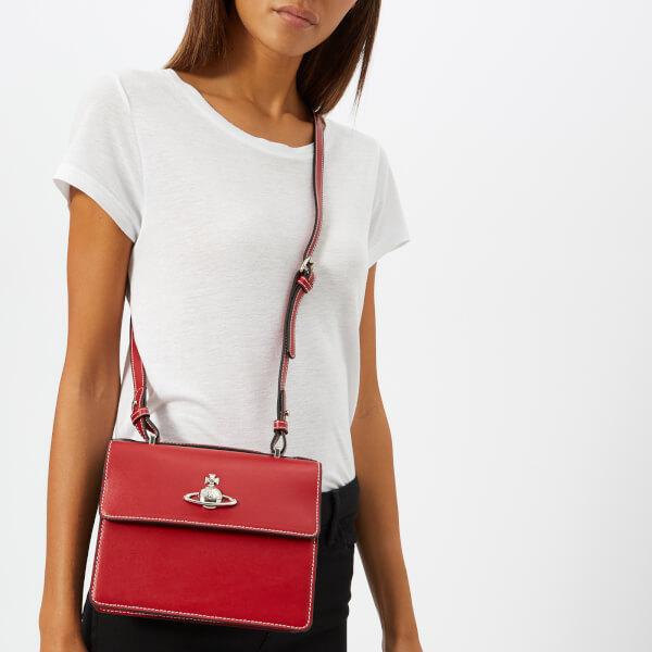 Vivienne Westwood Women s Matilda Medium Shoulder Bag - Red  Image 3 1eeace0407b1e
