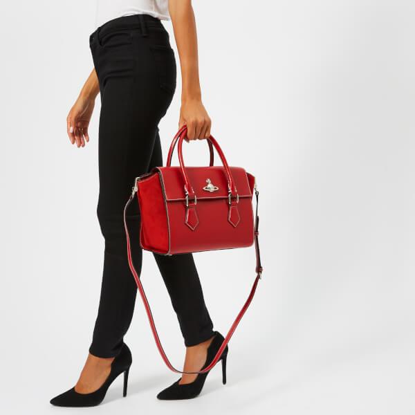 Vivienne Westwood Women s Matilda Medium Tote Handbag - Red  Image 3 d514d92812bae
