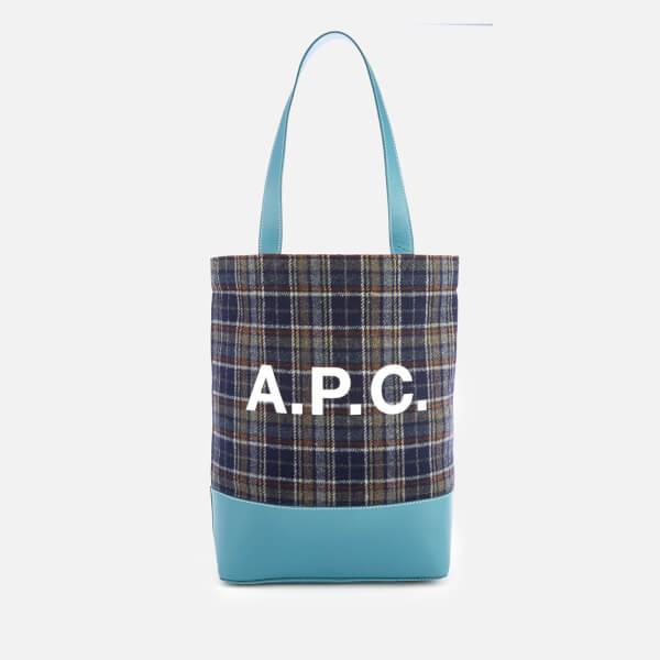 A.P.C. Women's Axelle Shopper Bag - Blue