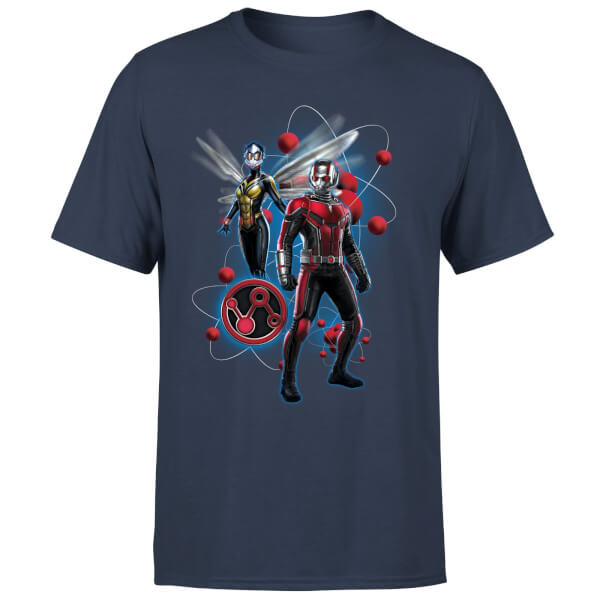 Ant-Man And The Wasp Particle Pose Herren T-Shirt - Navy Blau