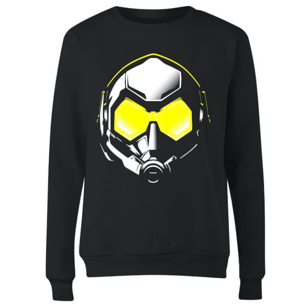 Ant-Man And The Wasp Hope Mask Women's Sweatshirt - Black