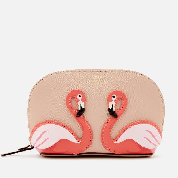 Kate Spade New York Women's Flamingo Small Abalene Cosmetic Bag - Multi
