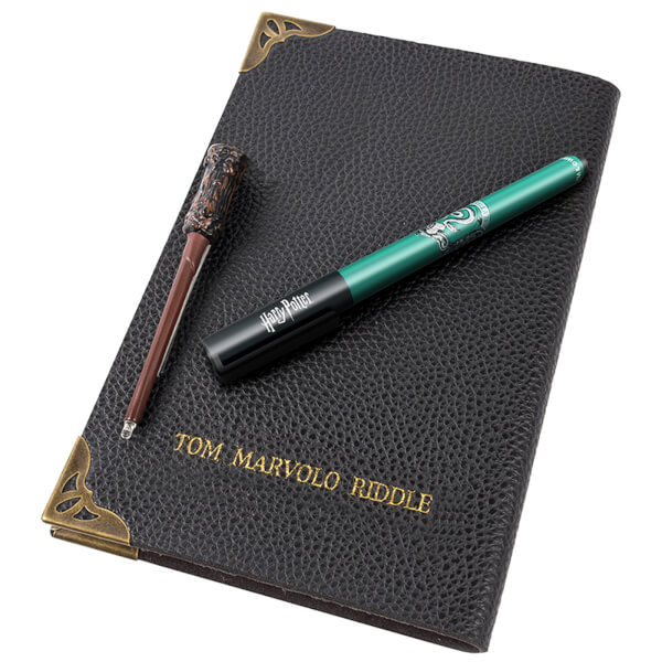 Harry Potter Tom Riddle's Diary Notebook and Invisible Wand Pen