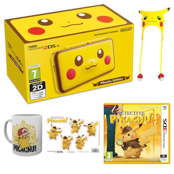 New Nintendo 2ds Xl Pikachu Pack Nintendo Official Uk Store