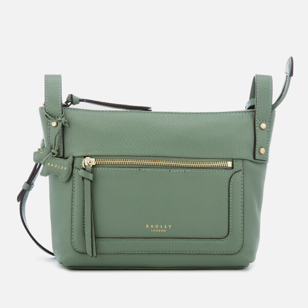 c2ee7f831409 Radley Women s Eltham Palace Small Cross Body Bag with Zip Top - Sage   Image 1