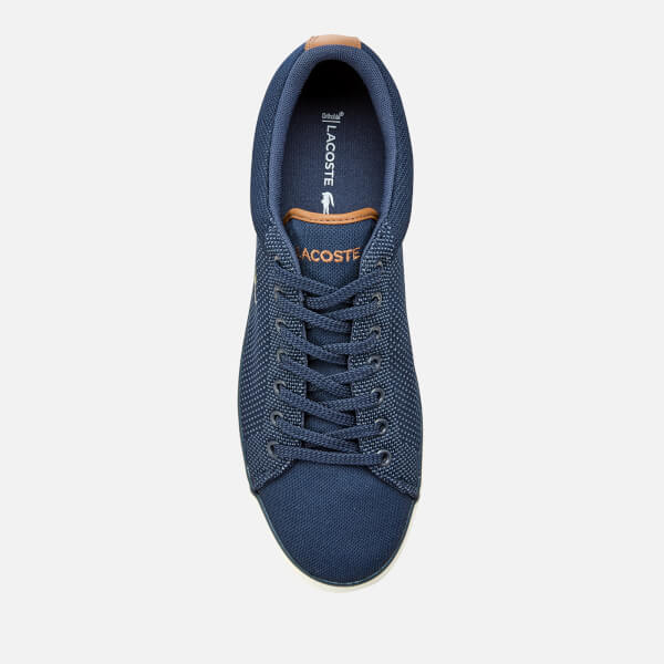 5fcb8273f0bf Lacoste Men s Lerond 318 1 Textile Trainers - Navy Tan  Image 3
