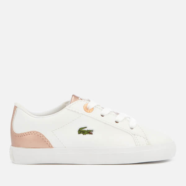 Lacoste Toddler's Lerond 318 3 Trainers - White/Pink
