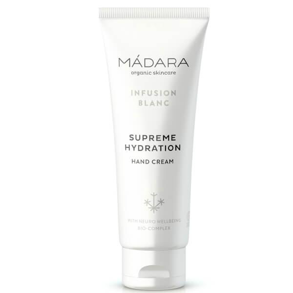 MÁDARA Infusion Blanc Supreme Hydration Hand Cream 75ml